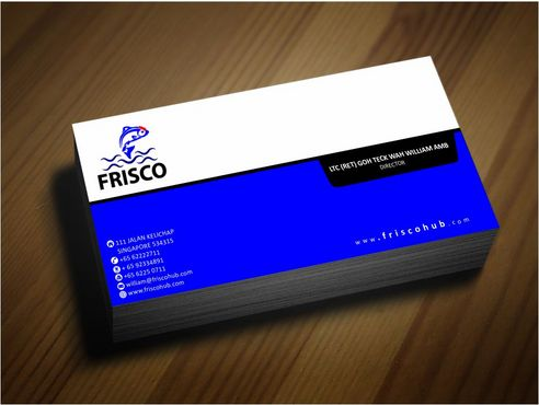 Frisco Consultant Hub Pte Ltd Business Cards and Stationery  Draft # 148 by Deck86