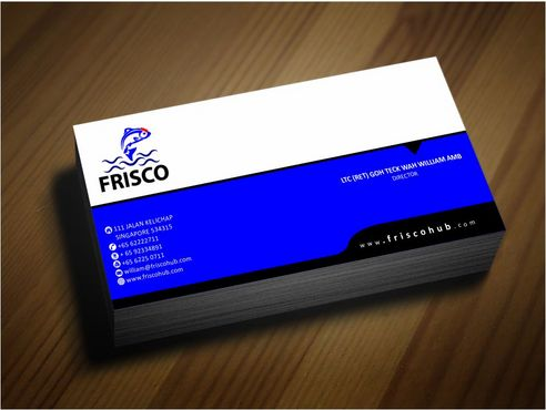 Frisco Consultant Hub Pte Ltd Business Cards and Stationery  Draft # 149 by Deck86
