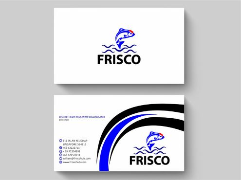 Frisco Consultant Hub Pte Ltd Business Cards and Stationery  Draft # 154 by Deck86