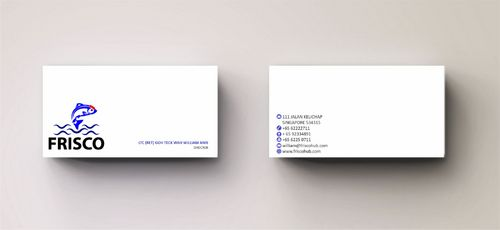 Frisco Consultant Hub Pte Ltd Business Cards and Stationery  Draft # 156 by Deck86