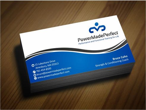 Performance and Functional Training for Life Business Cards and Stationery  Draft # 164 by Deck86