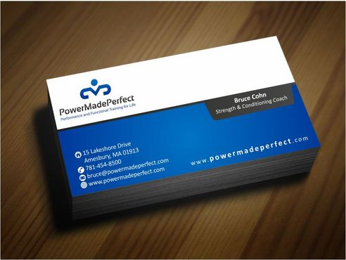 Performance and Functional Training for Life Business Cards and Stationery  Draft # 165 by Deck86