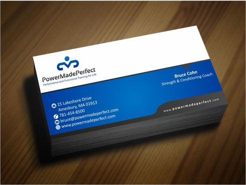 Performance and Functional Training for Life Business Cards and Stationery  Draft # 166 by Deck86
