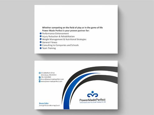Performance and Functional Training for Life Business Cards and Stationery  Draft # 171 by Deck86