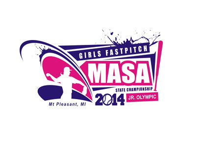 2014 MASA Jr Olympic Girls Fast Pitch State Championship A Logo, Monogram, or Icon  Draft # 43 by duke396