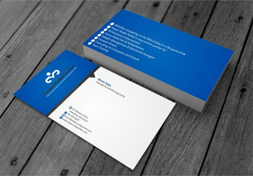 Performance and Functional Training for Life Business Cards and Stationery  Draft # 189 by xtremecreative3