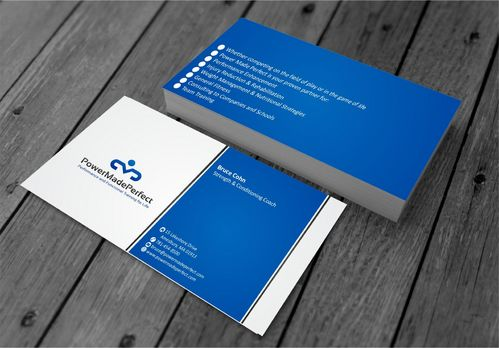 Performance and Functional Training for Life Business Cards and Stationery  Draft # 192 by xtremecreative3
