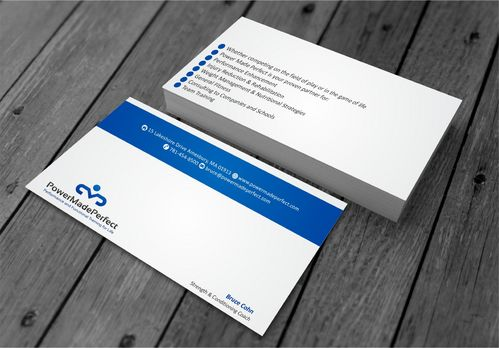 Performance and Functional Training for Life Business Cards and Stationery  Draft # 193 by xtremecreative3