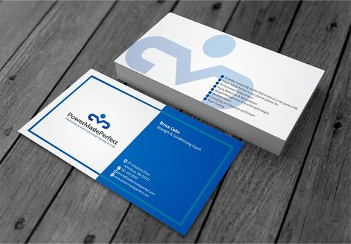 Performance and Functional Training for Life Business Cards and Stationery  Draft # 195 by xtremecreative3