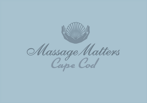 Massage Matters Cape Cod Logo Winning Design by TMEdesign