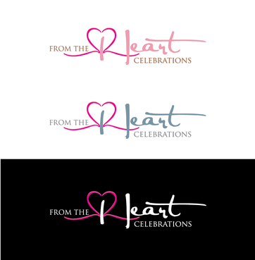 From the heart celebrations A Logo, Monogram, or Icon  Draft # 40 by InventiveStylus