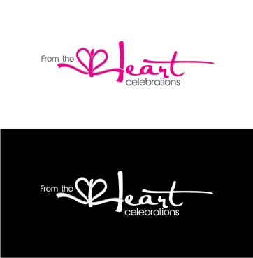 From the heart celebrations A Logo, Monogram, or Icon  Draft # 42 by InventiveStylus