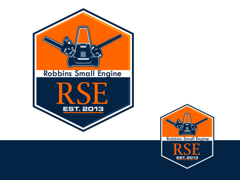 Robbins Small Engine A Logo, Monogram, or Icon  Draft # 13 by ismailbn08