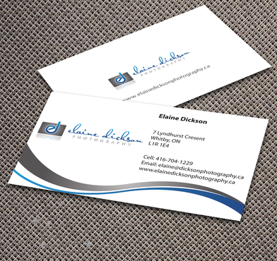 Elaine Dickson Photography Business Cards and Stationery  Draft # 153 by jpgart92