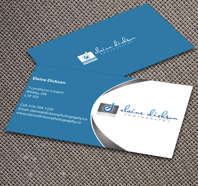 Elaine Dickson Photography Business Cards and Stationery  Draft # 154 by jpgart92