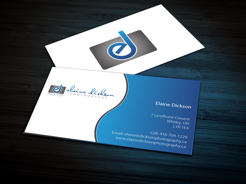 Elaine Dickson Photography Business Cards and Stationery  Draft # 159 by jpgart92