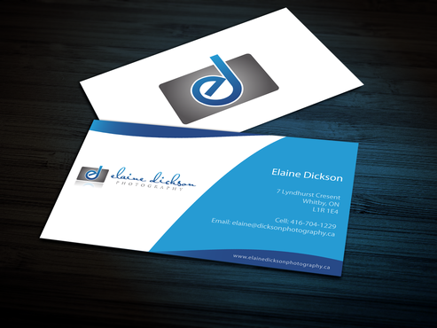 Elaine Dickson Photography Business Cards and Stationery  Draft # 160 by jpgart92