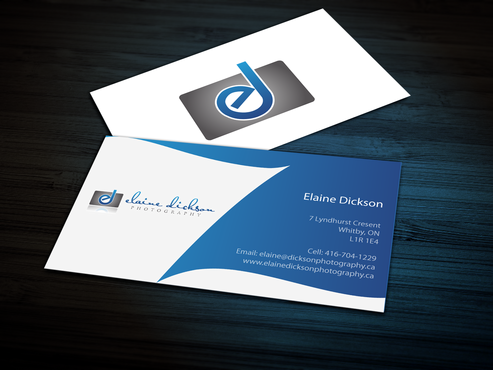 Elaine Dickson Photography Business Cards and Stationery  Draft # 161 by jpgart92