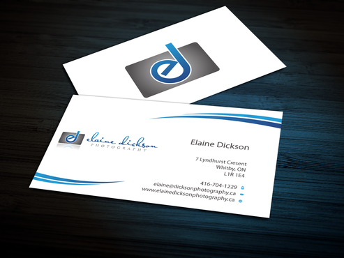 Elaine Dickson Photography Business Cards and Stationery  Draft # 162 by jpgart92