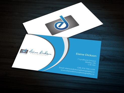 Elaine Dickson Photography Business Cards and Stationery  Draft # 163 by jpgart92
