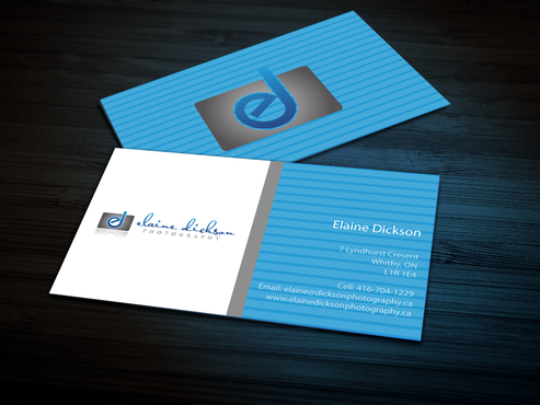 Elaine Dickson Photography Business Cards and Stationery  Draft # 164 by jpgart92