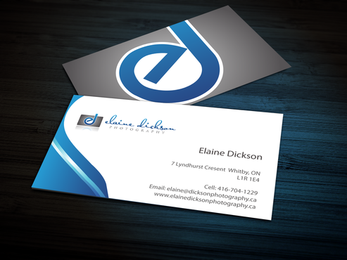 Elaine Dickson Photography Business Cards and Stationery  Draft # 167 by jpgart92