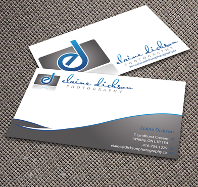 Elaine Dickson Photography Business Cards and Stationery  Draft # 168 by jpgart92