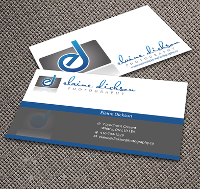 Elaine Dickson Photography Business Cards and Stationery  Draft # 169 by jpgart92