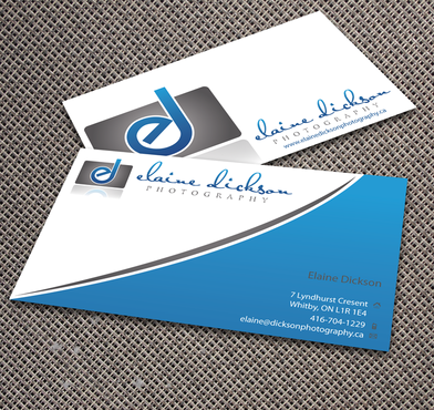 Elaine Dickson Photography Business Cards and Stationery  Draft # 170 by jpgart92