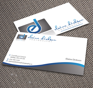 Elaine Dickson Photography Business Cards and Stationery  Draft # 171 by jpgart92
