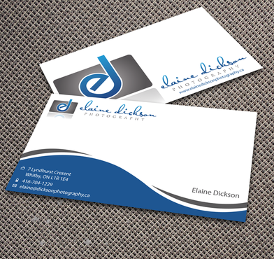 Elaine Dickson Photography Business Cards and Stationery  Draft # 172 by jpgart92