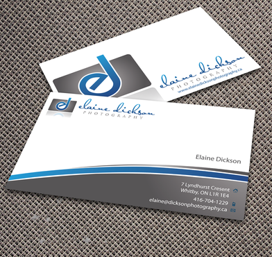 Elaine Dickson Photography Business Cards and Stationery  Draft # 173 by jpgart92