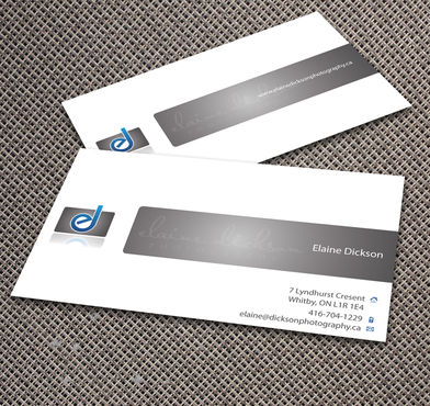 Elaine Dickson Photography Business Cards and Stationery  Draft # 174 by jpgart92