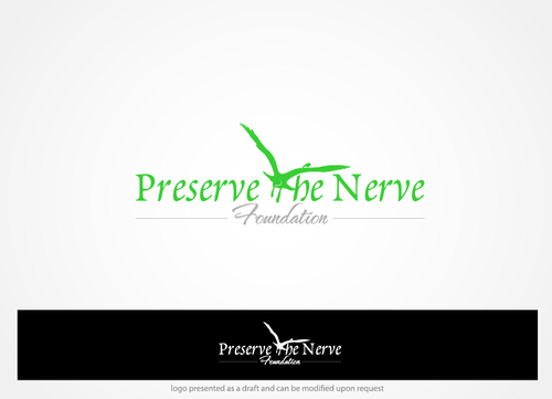 Preserve the Nerve Foundation A Logo, Monogram, or Icon  Draft # 52 by hands4art