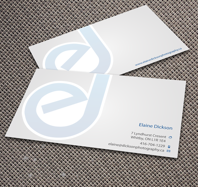 Elaine Dickson Photography Business Cards and Stationery  Draft # 176 by jpgart92