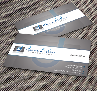 Elaine Dickson Photography Business Cards and Stationery  Draft # 175 by jpgart92
