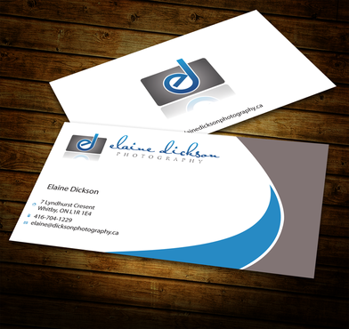 Elaine Dickson Photography Business Cards and Stationery  Draft # 178 by jpgart92