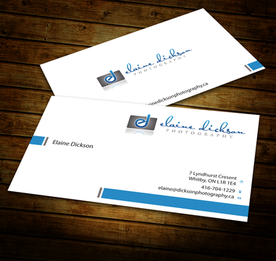 Elaine Dickson Photography Business Cards and Stationery  Draft # 180 by jpgart92