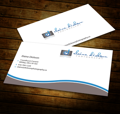 Elaine Dickson Photography Business Cards and Stationery  Draft # 181 by jpgart92