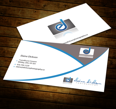 Elaine Dickson Photography Business Cards and Stationery  Draft # 182 by jpgart92