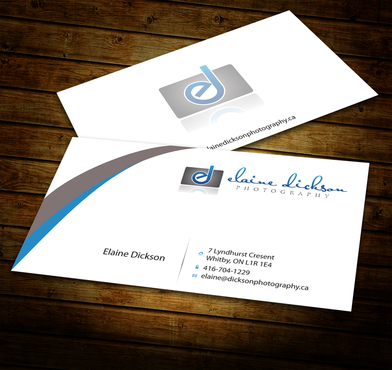 Elaine Dickson Photography Business Cards and Stationery  Draft # 183 by jpgart92