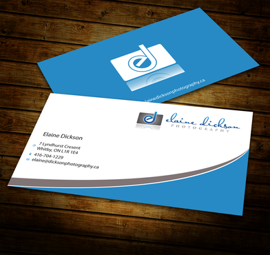 Elaine Dickson Photography Business Cards and Stationery  Draft # 184 by jpgart92