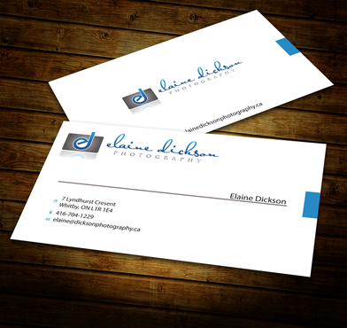 Elaine Dickson Photography Business Cards and Stationery  Draft # 185 by jpgart92