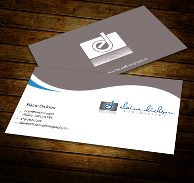 Elaine Dickson Photography Business Cards and Stationery  Draft # 186 by jpgart92