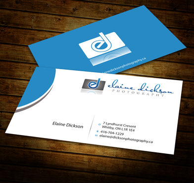 Elaine Dickson Photography Business Cards and Stationery  Draft # 187 by jpgart92