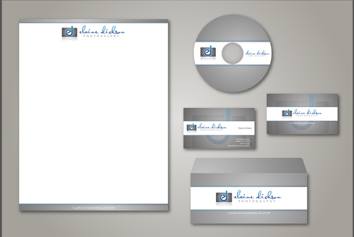 Elaine Dickson Photography Business Cards and Stationery  Draft # 206 by jpgart92