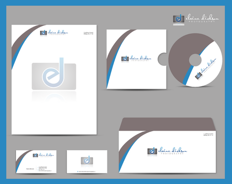 Elaine Dickson Photography Business Cards and Stationery  Draft # 212 by jpgart92