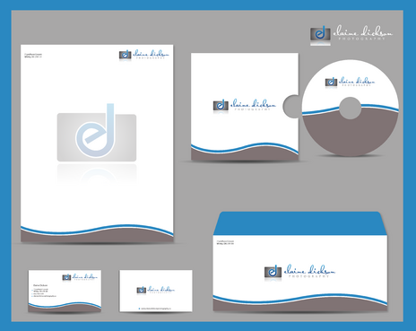 Elaine Dickson Photography Business Cards and Stationery  Draft # 211 by jpgart92