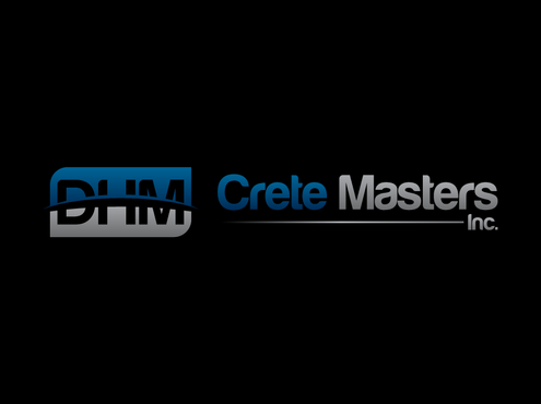 DHM Crete Masters, Inc. (not sure if it needs to be in design but that's the name of company A Logo, Monogram, or Icon  Draft # 27 by Celestia
