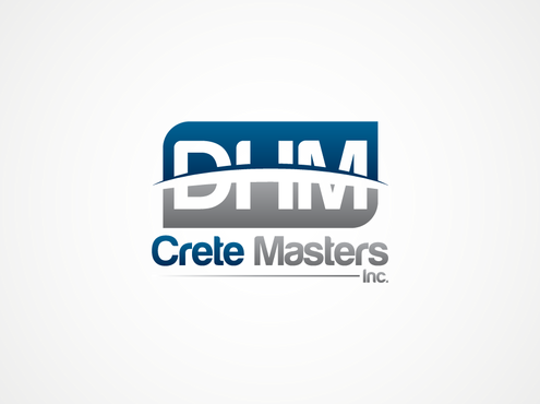 DHM Crete Masters, Inc. (not sure if it needs to be in design but that's the name of company A Logo, Monogram, or Icon  Draft # 28 by Celestia